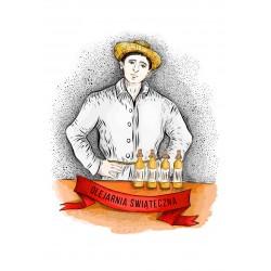 olej świąteczny roztoczański 500 ml bity tradycyjnie 3